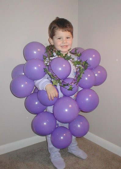 Best ideas about DIY Grapes Costume . Save or Pin Homemade Halloween Costume Idea Bunch of Grapes Now.