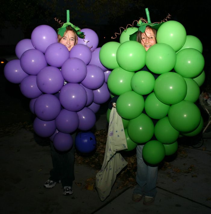 Best ideas about DIY Grapes Costume . Save or Pin How to make a grape costume with balloons Now.