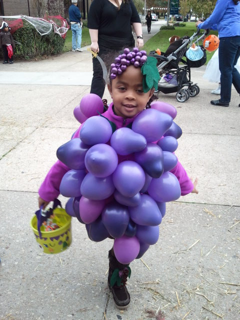 Best ideas about DIY Grapes Costume . Save or Pin valley stream mom Now.