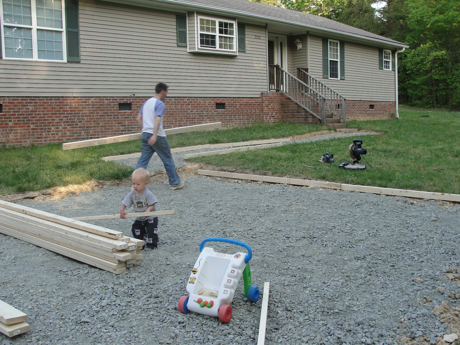 Best ideas about DIY Gravel Driveway . Save or Pin Christian Mommyhood Our DIY Home Project Gravel Driveway Now.