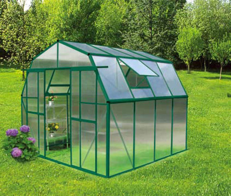 Best ideas about DIY Greenhouse Kits . Save or Pin Outdoor Walk In Hobby Grow N Up 8x8 DIY Home Garden Now.