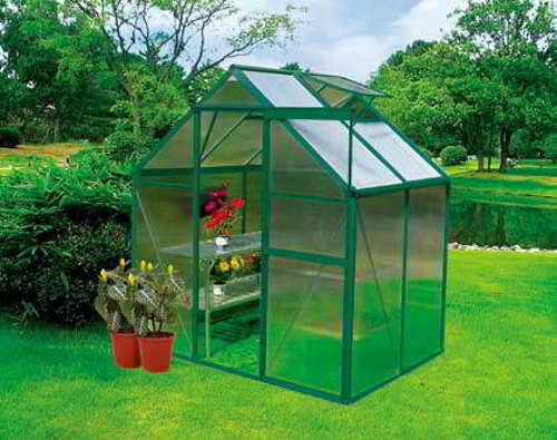 Best ideas about DIY Greenhouse Kits . Save or Pin 4x6 DIY Backyard Hobby Greenhouse Kit Earthcare Basic Now.