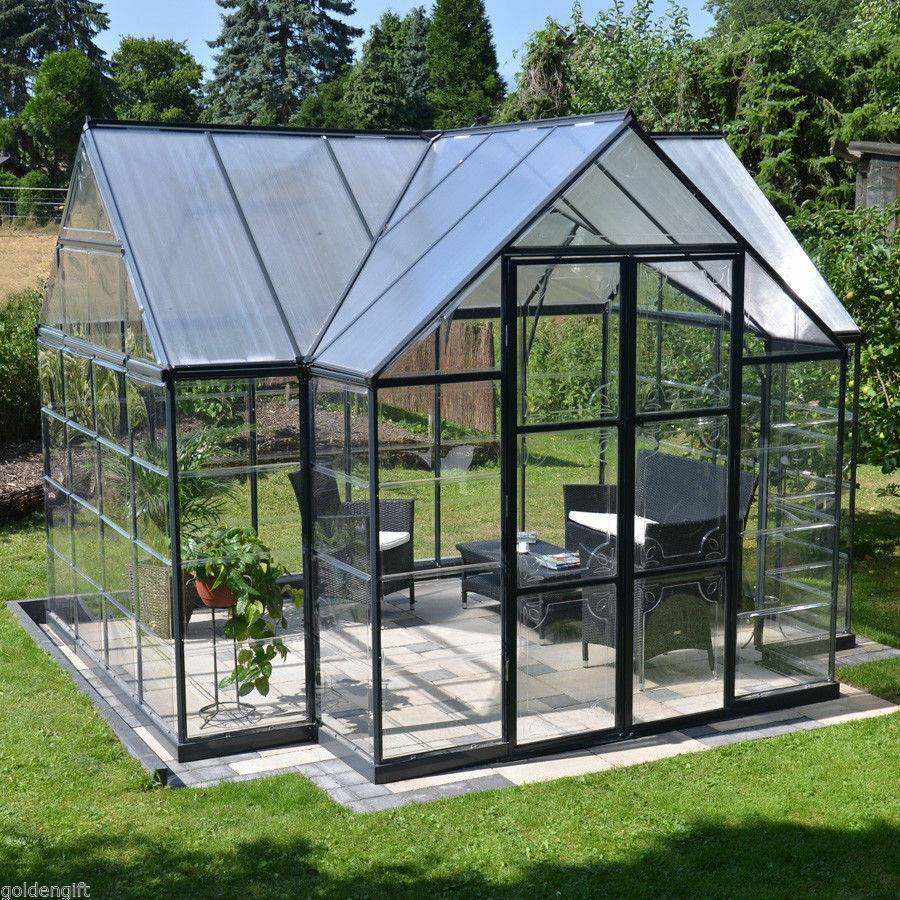Best ideas about DIY Greenhouse Kits . Save or Pin 10x12 Outdoor Greenhouse Frame Kit DIY Hobby Garden Now.