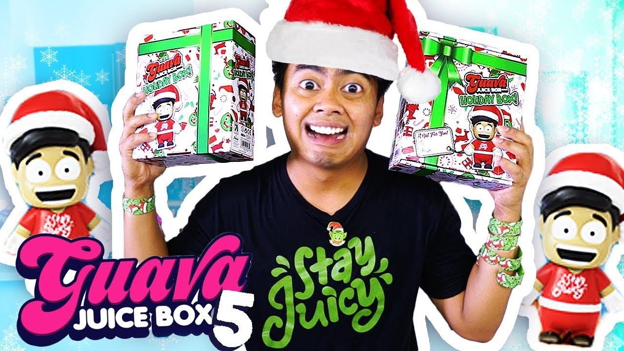 Best ideas about DIY Guava Juice Box . Save or Pin GUAVA JUICE BOX 5 HOLIDAY EDITION UNBOXING Now.