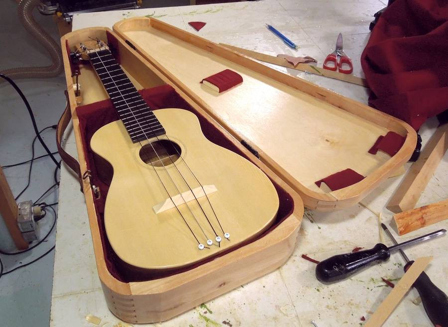 Best ideas about DIY Guitar Case . Save or Pin Building an instrument case Now.