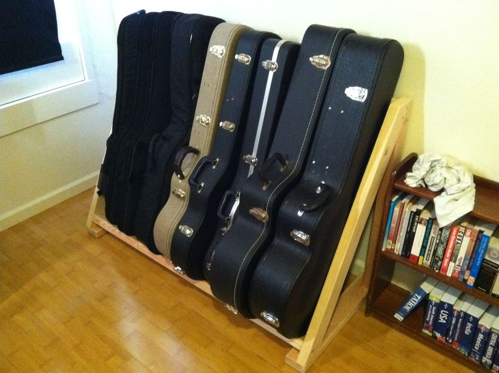 Best ideas about DIY Guitar Case . Save or Pin DIY pvc multiple guitar stand Now.