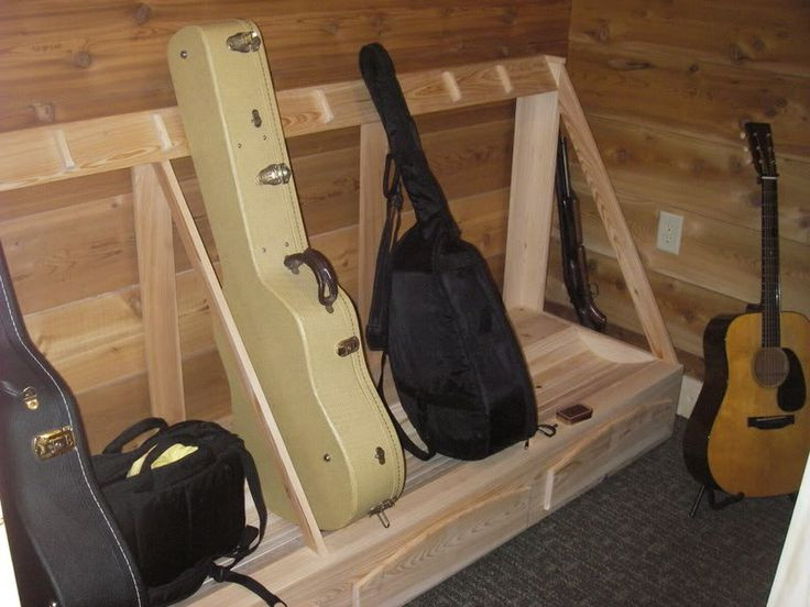 Best ideas about DIY Guitar Case . Save or Pin Guitar Case Storage Rack DIY in 2019 Now.