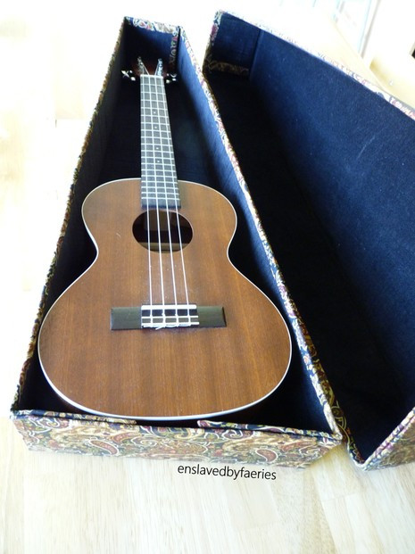 Best ideas about DIY Guitar Case . Save or Pin DIY Ukulele Case Now.