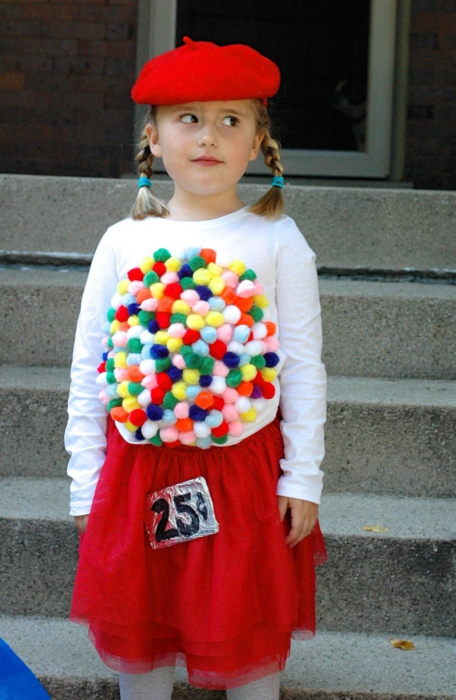 Best ideas about DIY Gumball Costume . Save or Pin Easy DIY Halloween Costume Idea Vintage Gumball Machine Now.