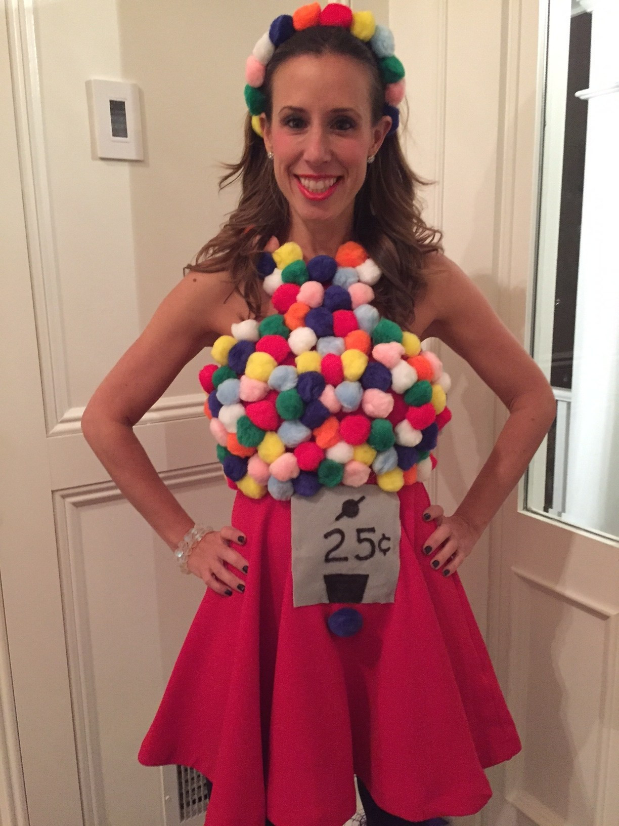 Best ideas about DIY Gumball Costume . Save or Pin DIY GUMBALL MACHINE HALLOWEEN COSTUME Now.