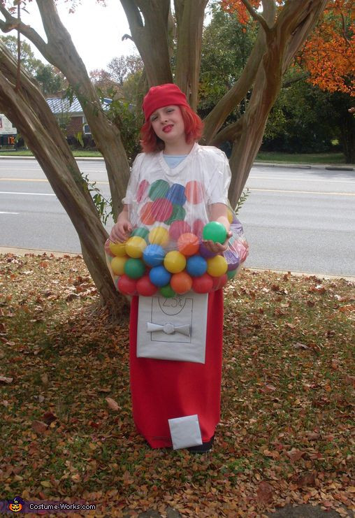 Best ideas about DIY Gumball Costume . Save or Pin Gumball Machine Costume Now.