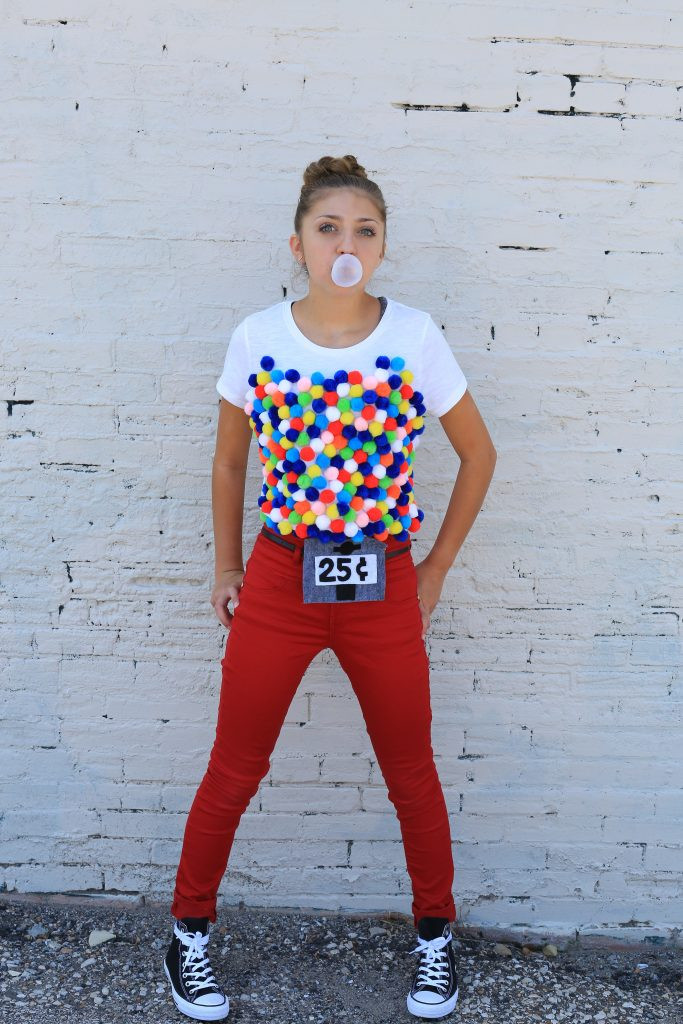 Best ideas about DIY Gumball Costume . Save or Pin 10 DIY Food Halloween Costumes Kamri Noel Now.