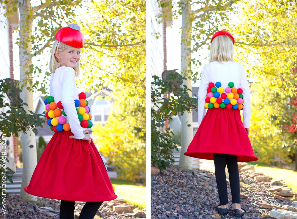 Best ideas about DIY Gumball Costume . Save or Pin Gumball Machine Costume a very Low Sew project Now.