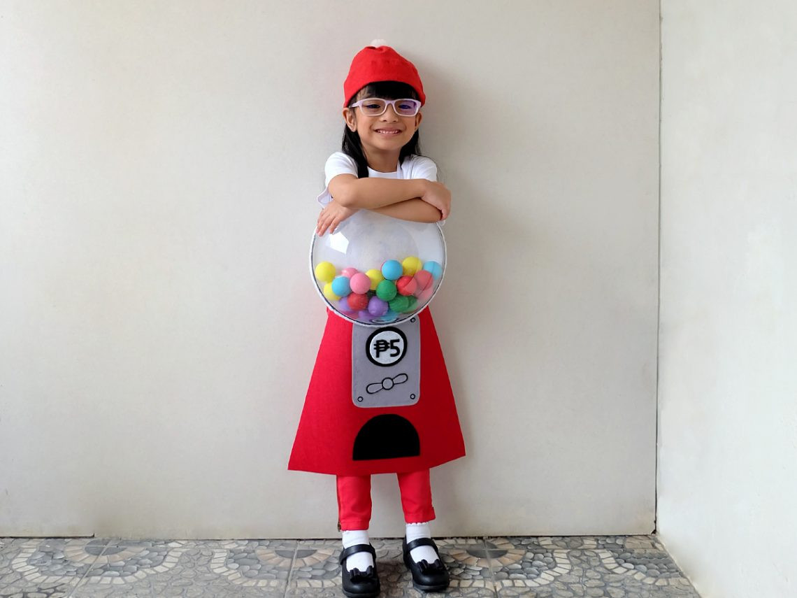 Best ideas about DIY Gumball Costume . Save or Pin DIY No Sew Gumball Machine Costume – A Crafted Lifestyle Now.
