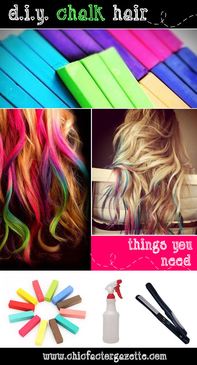Best ideas about DIY Hair Chalking . Save or Pin DIY Chalk Hair s and for Now.