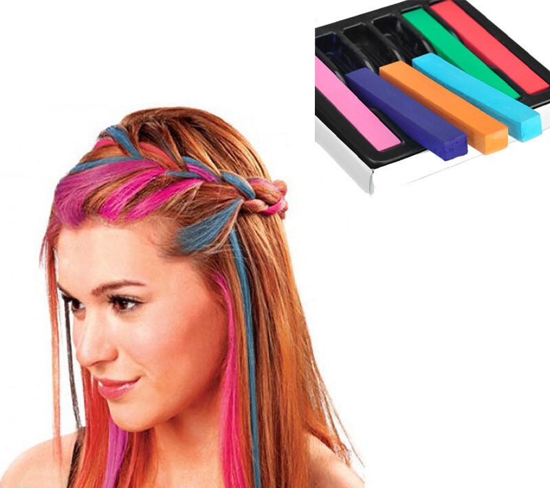 Best ideas about DIY Hair Chalking . Save or Pin 6Color Non toxicTemporary DIY Hair Chalk Dye Soft Pastels Now.