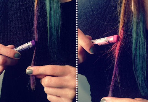 Best ideas about DIY Hair Chalking . Save or Pin DIY Hair Chalk Now.