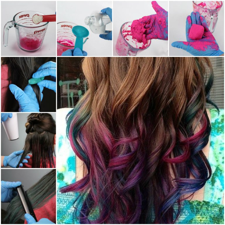 Best ideas about DIY Hair Chalking . Save or Pin DIY Hair chalk 👧 by Elizabeth Garcia Musely Now.