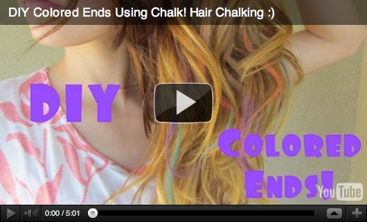 Best ideas about DIY Hair Chalking . Save or Pin DIY Hair Chalking Fab Fatale Now.