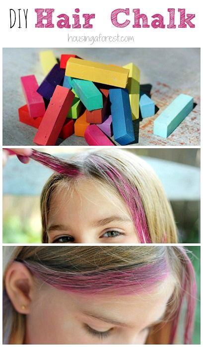 Best ideas about DIY Hair Chalking . Save or Pin How to Chalk Hair DIY Washable Hair Color Now.