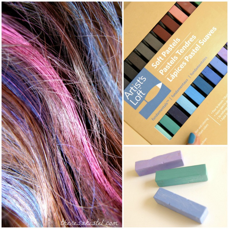 Best ideas about DIY Hair Chalking . Save or Pin DIY Hair Chalking Tutorial Now.