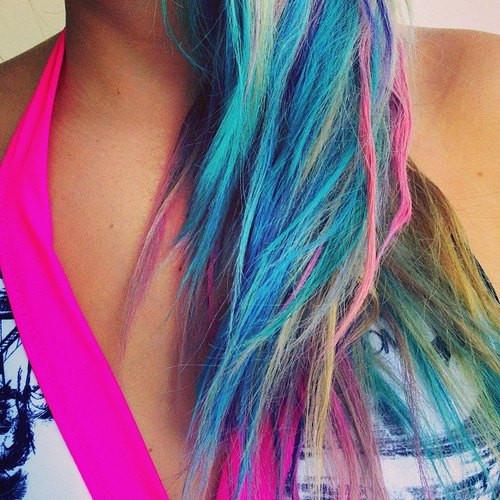 Best ideas about DIY Hair Chalking . Save or Pin LOVELANEGRAVEYARD DIY Hair Chalking Now.