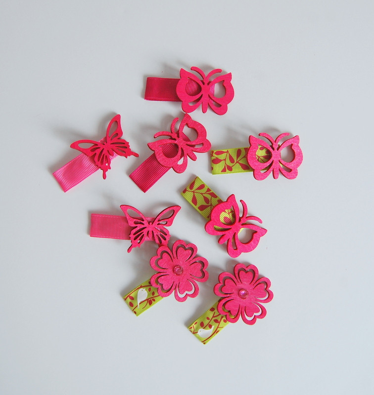 Best ideas about DIY Hair Clips . Save or Pin 5 Minute DIY Hair Clips and a headband in 10 northstory Now.