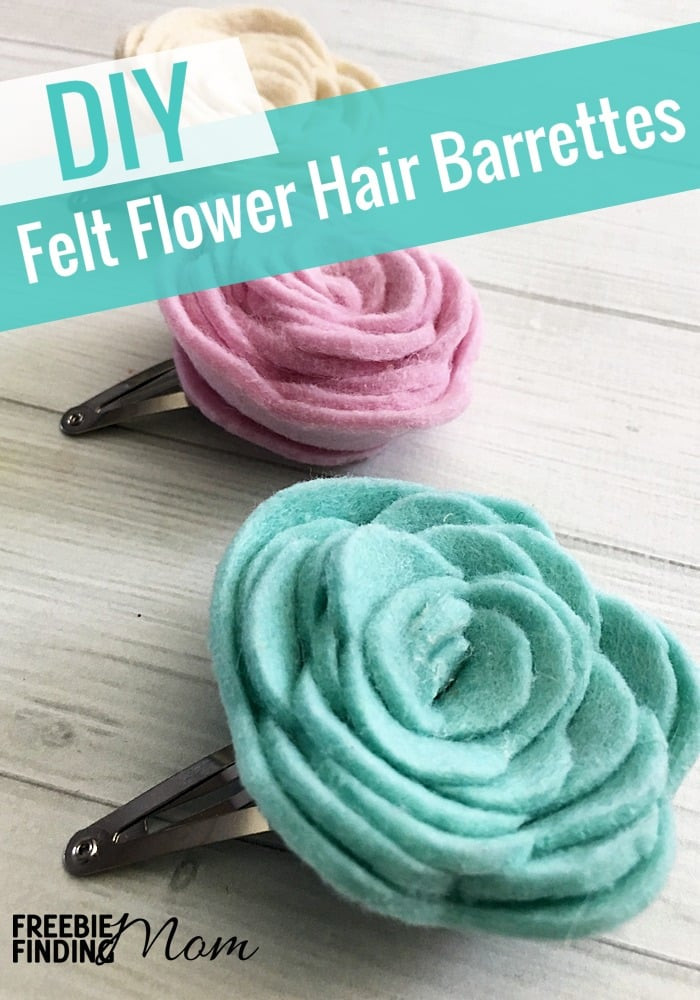 Best ideas about DIY Hair Clips . Save or Pin Homemade Hair Clips Ideas Felt Flower DIY Hair Clips Now.