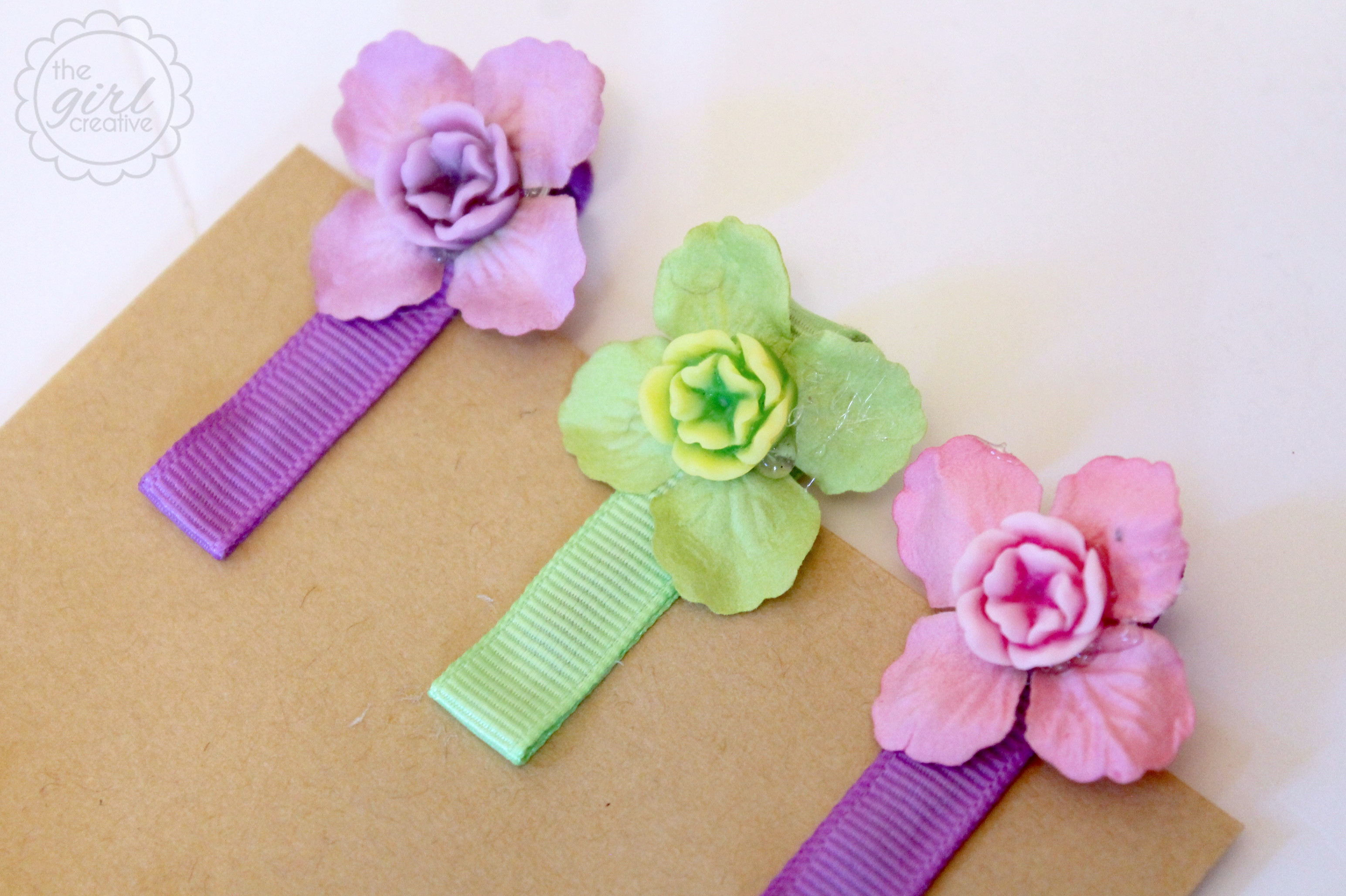 Best ideas about DIY Hair Clips . Save or Pin Easy DIY Hair Clips The Girl Creative Now.