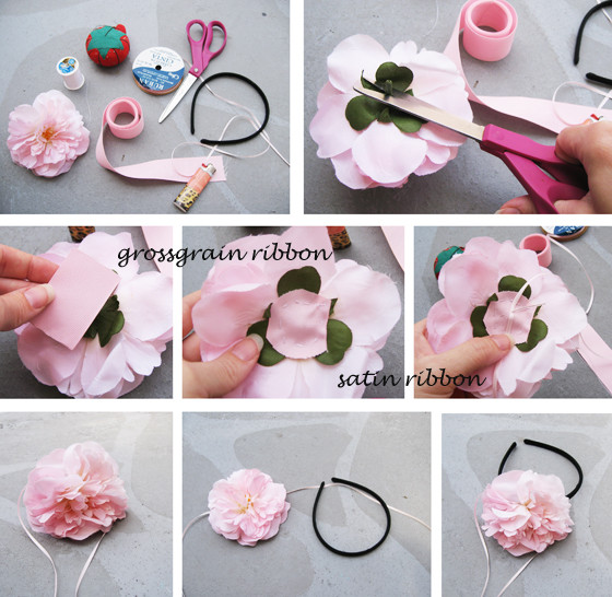 Best ideas about DIY Hair Clips . Save or Pin 23 BEAUTIFUL DIY HAIR ACCESSORIES Now.