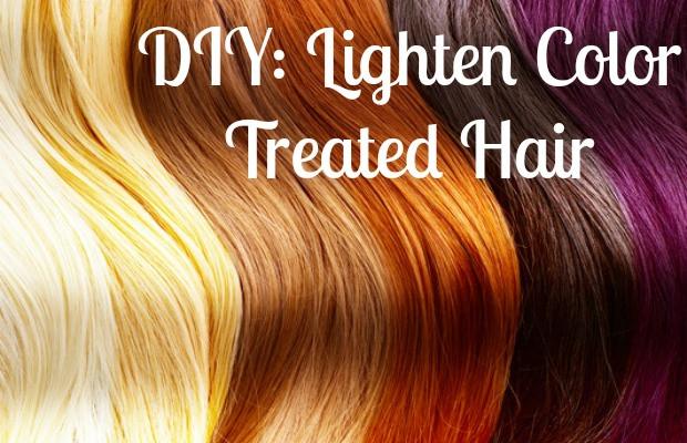 Best ideas about DIY Hair Lightening . Save or Pin DIY Lighten Color Treated Hair – Chelsea Crockett Now.