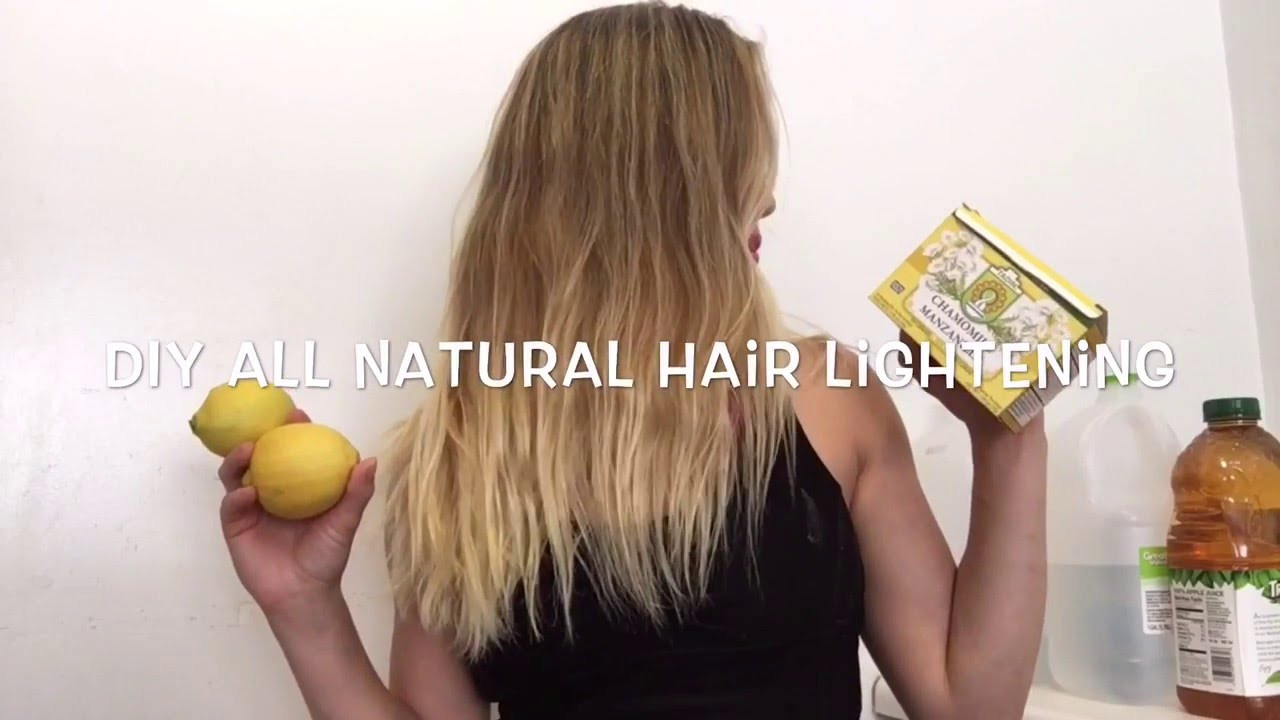 Best ideas about DIY Hair Lightening . Save or Pin DIY all natural hair lightening Get natural summer Now.