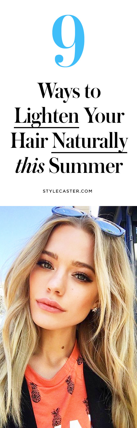 Best ideas about DIY Hair Lightening . Save or Pin 9 DIY Ways to Lighten Your Hair Naturally This Summer Now.