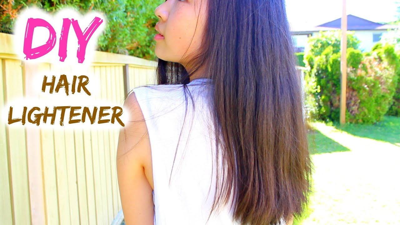 Best ideas about DIY Hair Lightening . Save or Pin DIY Natural Hair Lightener Now.