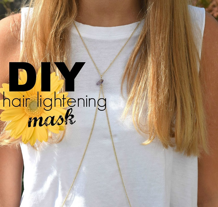 Best ideas about DIY Hair Lightening . Save or Pin Top 10 DIY Home Reme s for Hair Lightening Top Inspired Now.