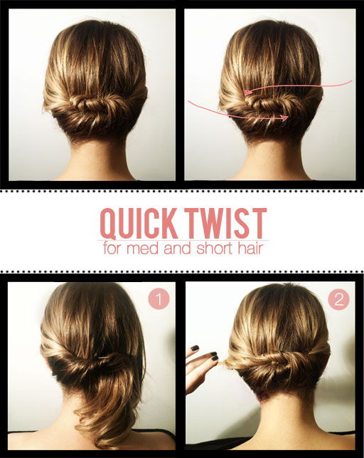 Best ideas about DIY Haircuts For Short Hair . Save or Pin Hair Tutorials For Short Hair fashionsy Now.