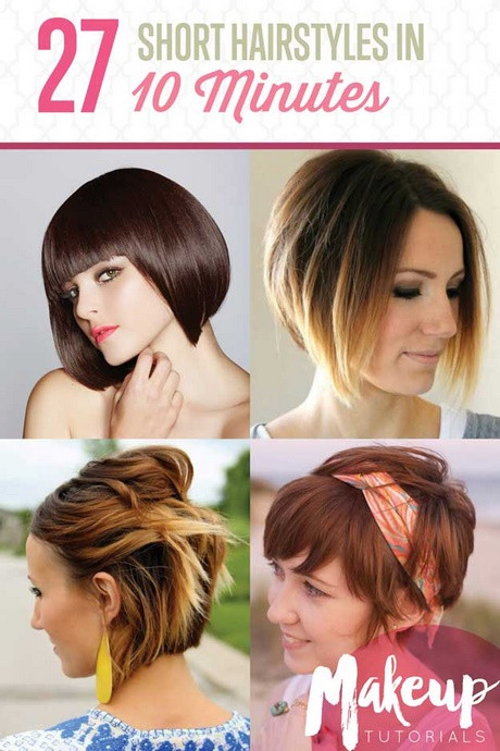 Best ideas about DIY Haircuts For Short Hair . Save or Pin Diy hairstyles for short hair Now.