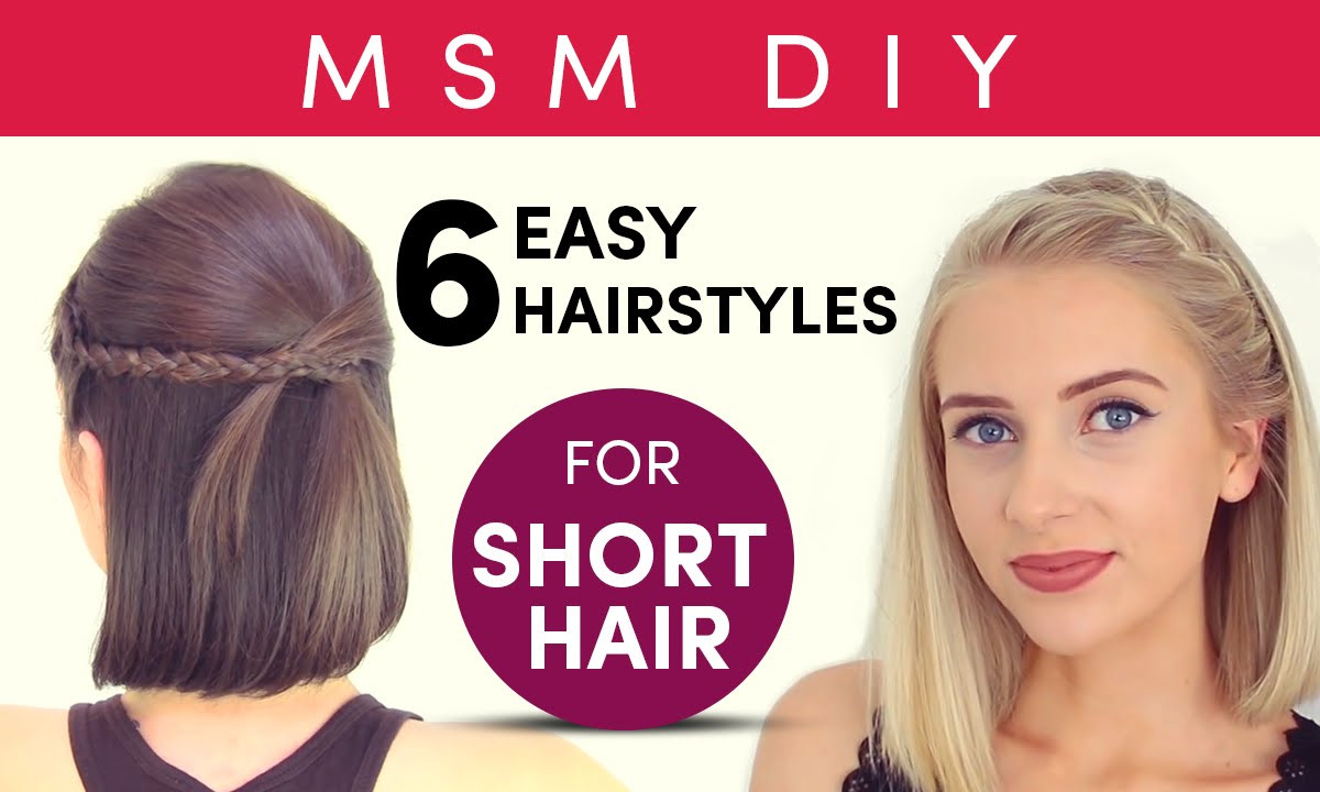 Best ideas about DIY Haircuts For Short Hair . Save or Pin MSM DIY Now.