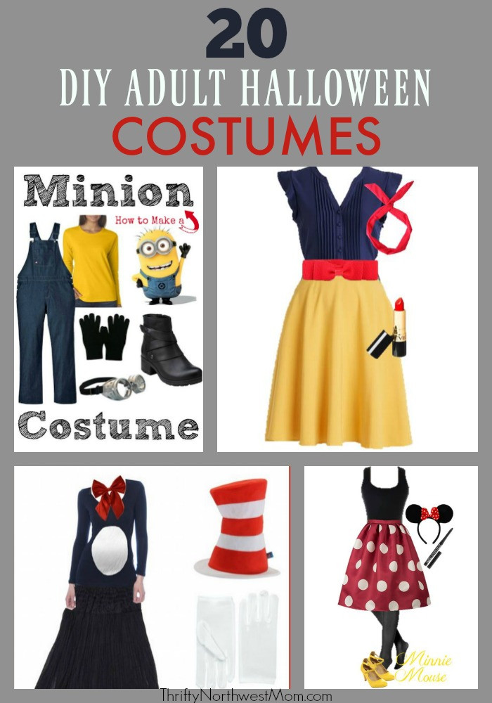 Best ideas about DIY Halloween Adult Costumes . Save or Pin DIY Adult Halloween Costumes Now.