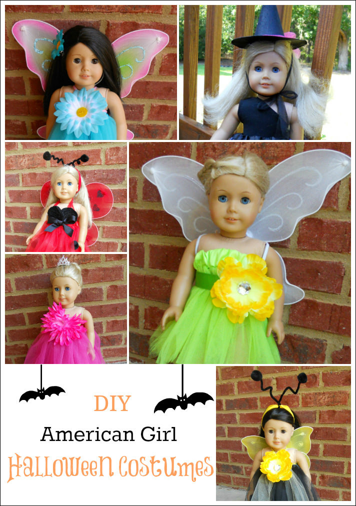 Best ideas about DIY Halloween Costumes Girls . Save or Pin 6 DIY Halloween Costumes for American Girl Dolls Now.