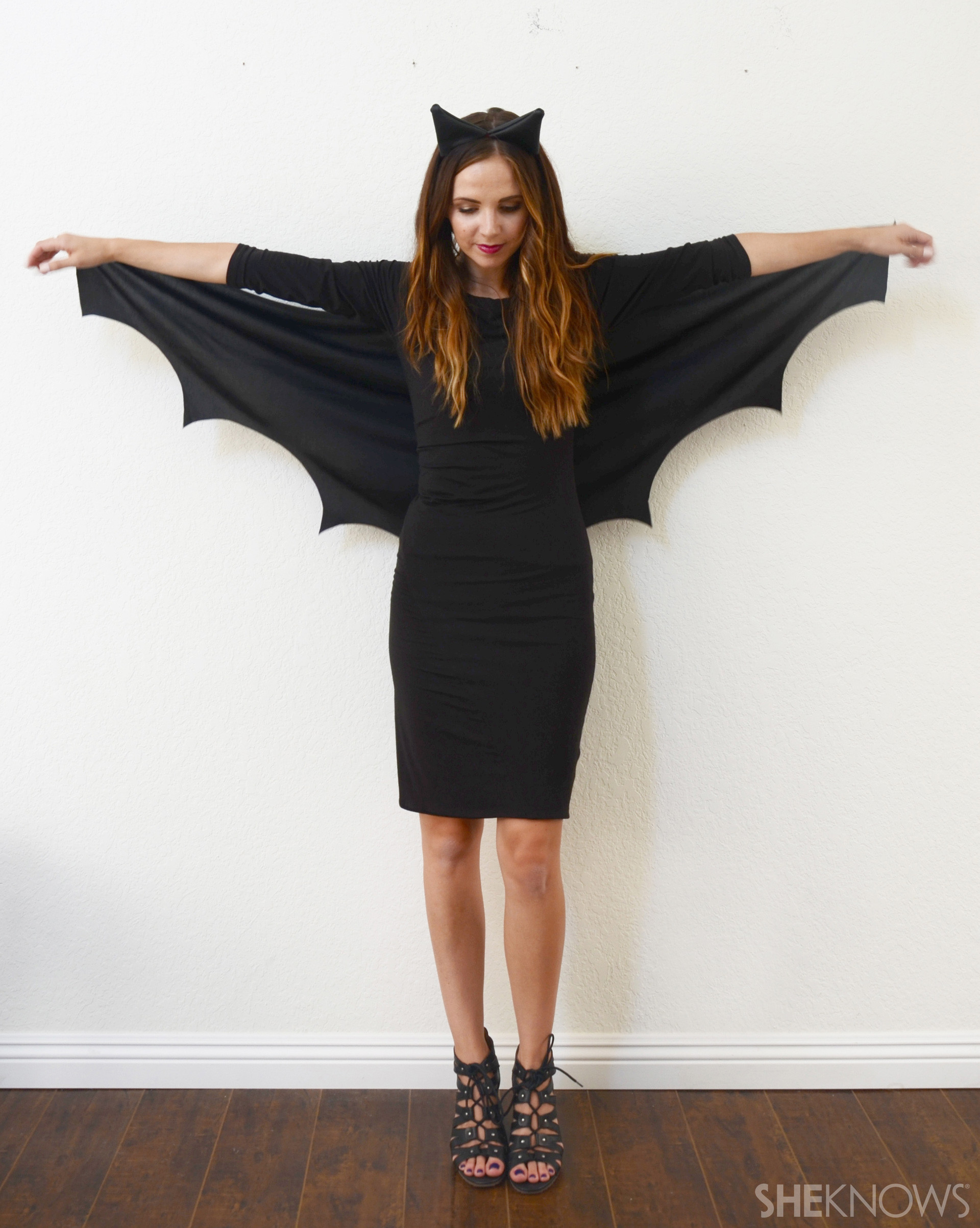 Best ideas about DIY Halloween Costumes Women . Save or Pin A DIY Bat Costume so Easy No e Will Know It ly Took 10 Now.