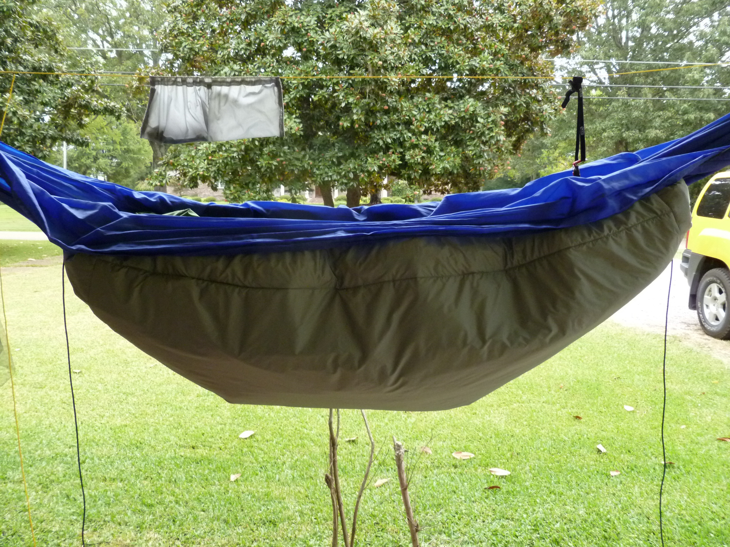 Best ideas about DIY Hammock Underquilt . Save or Pin DIY UnderQuilt Now.