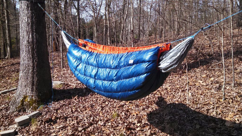 Best ideas about DIY Hammock Underquilt . Save or Pin Down Hammock Underquilt Ultralight 20 F 14 Steps with Now.