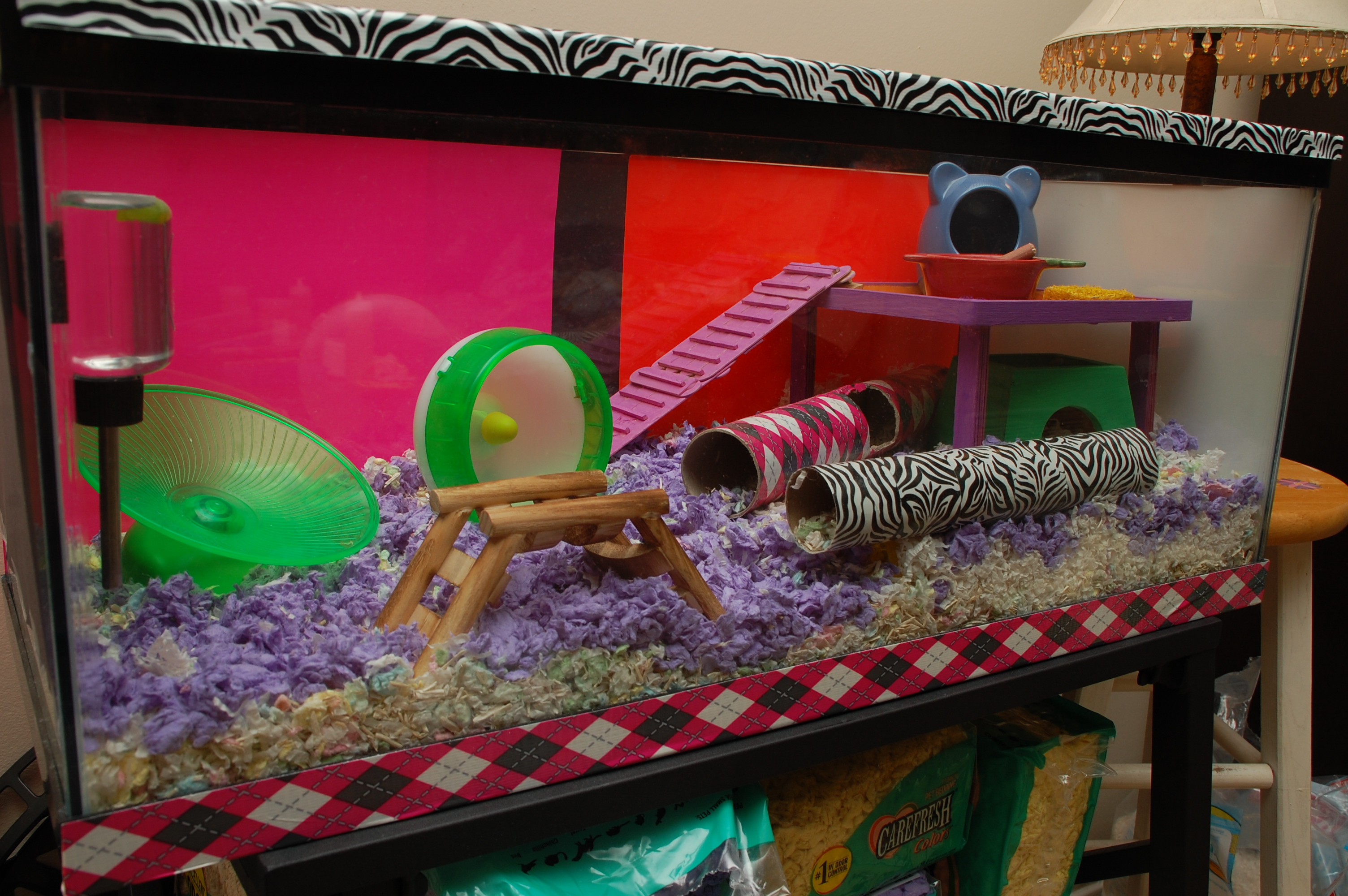 Best ideas about DIY Hamster Cage . Save or Pin bin cages Hammy Happenings Now.