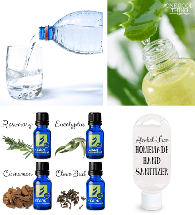 Best ideas about DIY Hand Sanitizer . Save or Pin Make Your Own Natural Alcohol Free Hand Sanitizer e Now.
