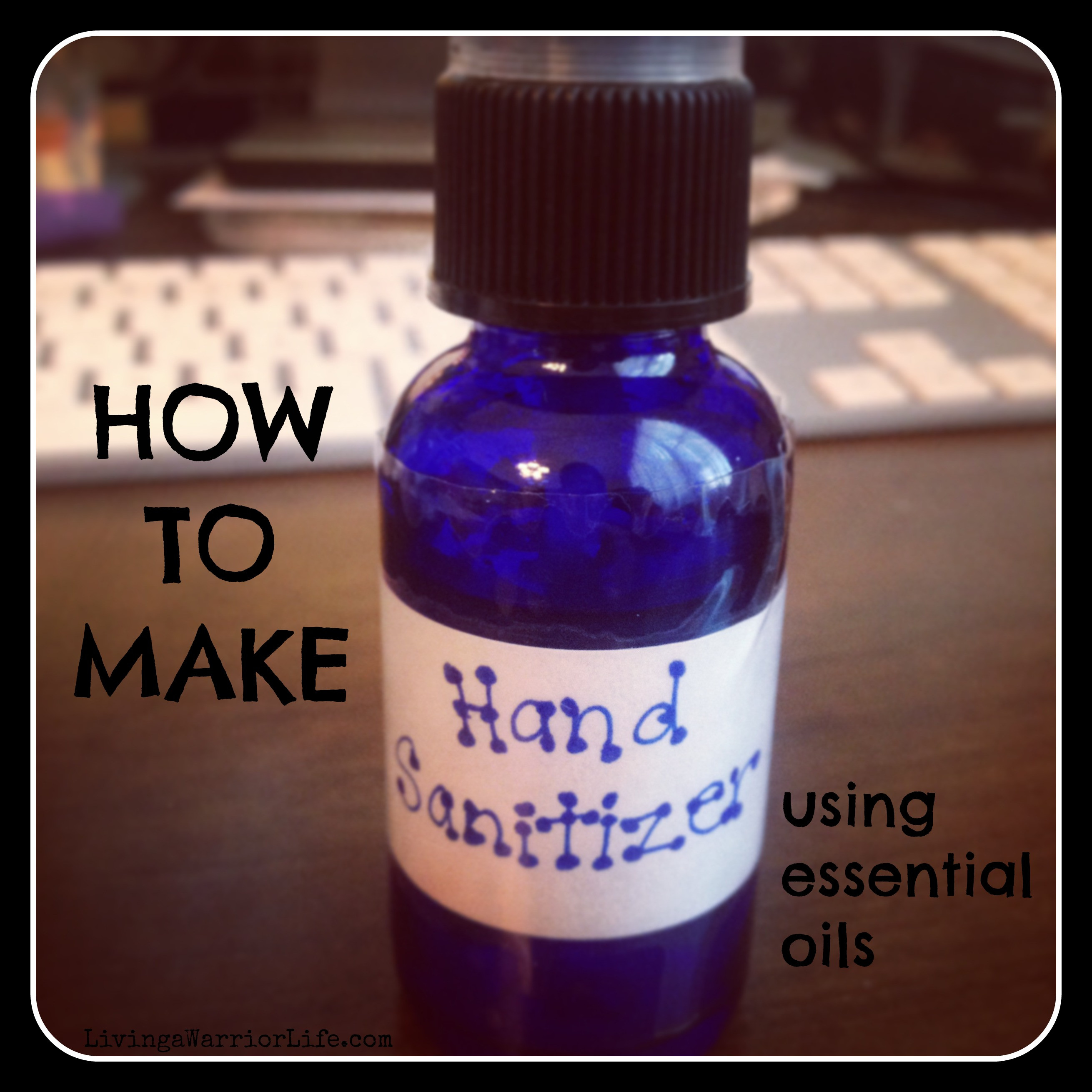 Best ideas about DIY Hand Sanitizer . Save or Pin DIY with Essential Oils Hand Sanitizer Living a Now.