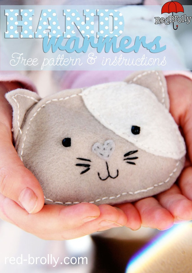 Best ideas about DIY Hand Warmers . Save or Pin 5 DIY Pocket Handwarmers Sewing Tutorials Now.
