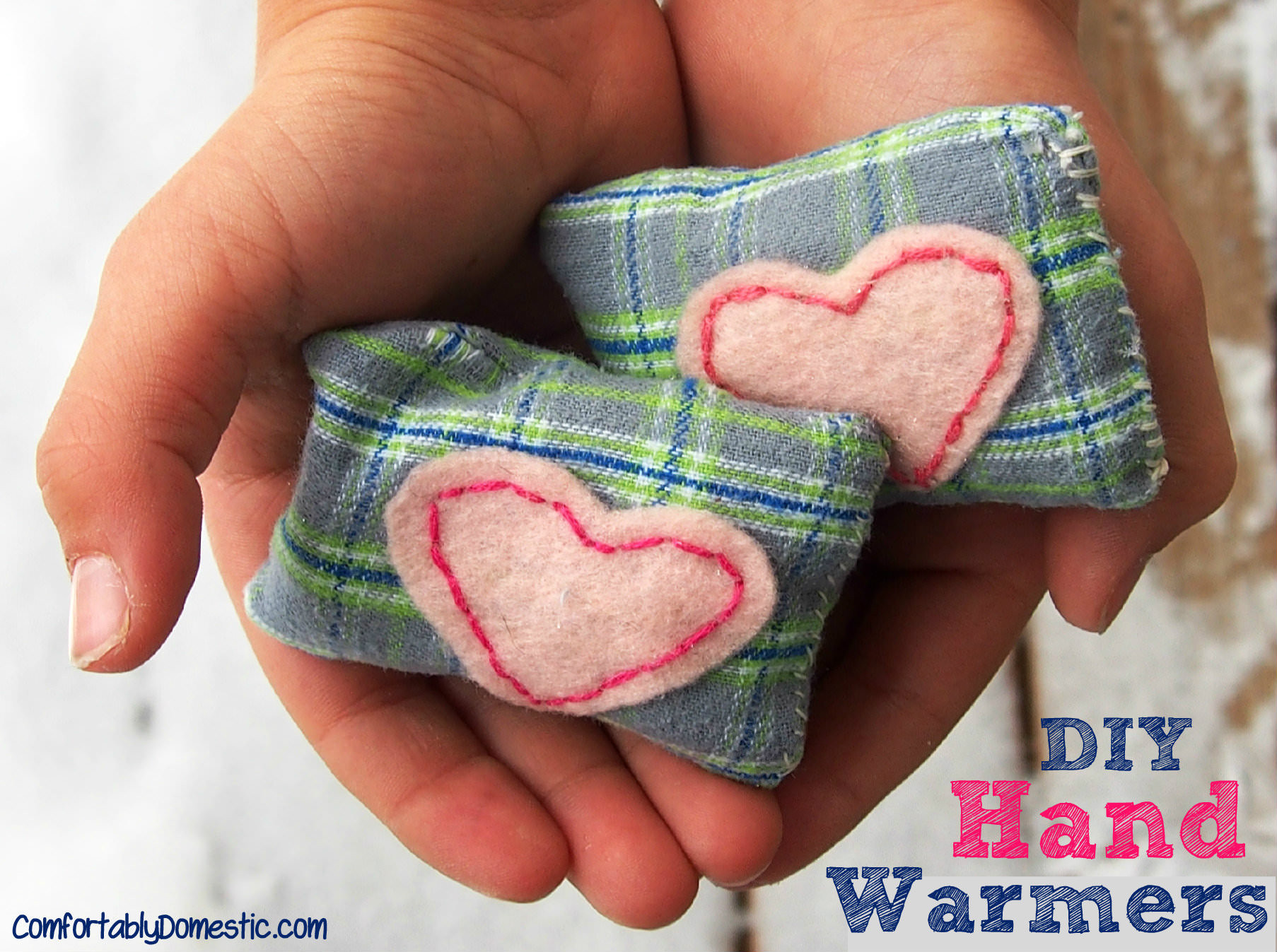 Best ideas about DIY Hand Warmers . Save or Pin DIY Microwavable Hand Warmers Reusable  fortably Now.