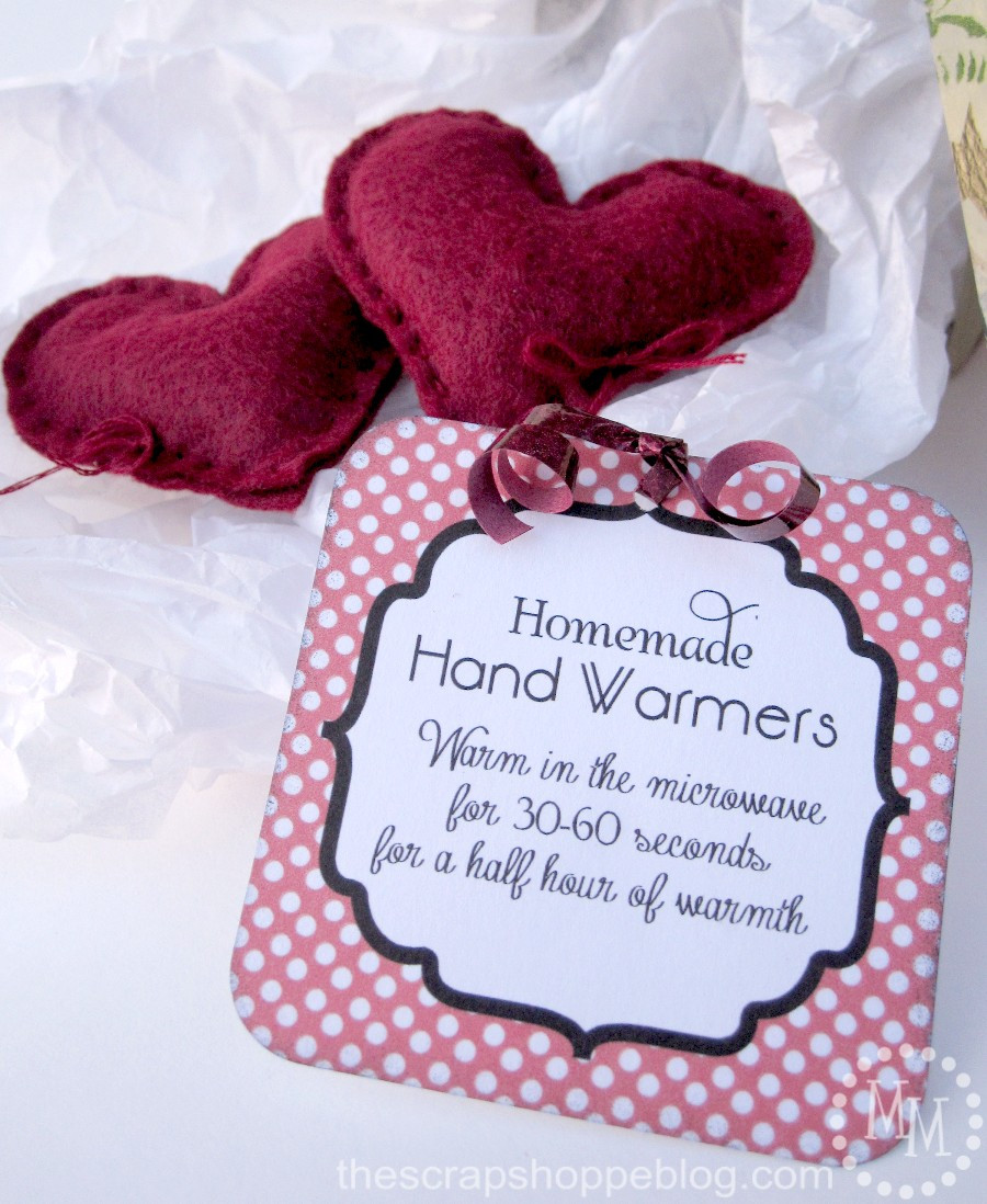 Best ideas about DIY Hand Warmers . Save or Pin Workshop Wednesday Homemade Hand Warmers The Scrap Shoppe Now.