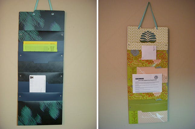 Best ideas about DIY Hanging File Organizer . Save or Pin 15 Fabulous File Organizers to Buy or DIY Now.